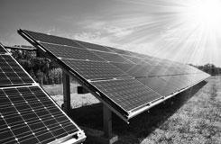 ground mount solar power system in Austin TX
