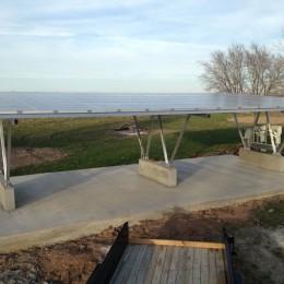solar carport fits four cars
