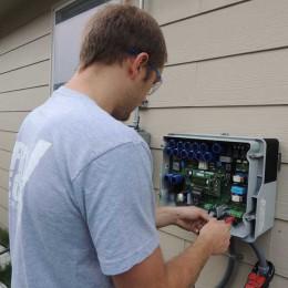 solar inverter measurement