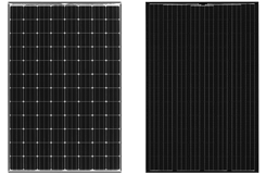 Panasonic solar panels 330 watt and 320 watt black