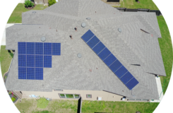 solar array with hidden conduit is standard for HESOLAR solar panel cost in Austin