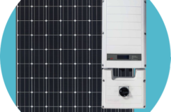 solar edge inverter and panasonic HIT solar panel included in pricing