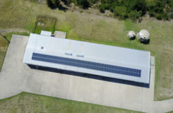 cost of solar panels goes down for large scale residential and commercial solar systems